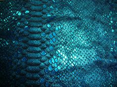 Metallic Leather 7 - 10 sq ft MYSTIC  Turquoise on Black Bling Cowhide 3 oz / 1.2 mm PeggySueAlso? E2868-07
