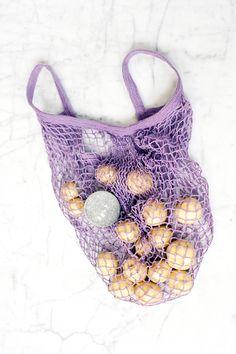 Lavender Mesh Bag