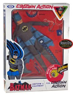 I loved the Captain Action Batman set