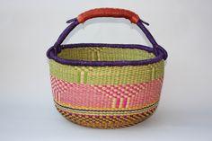 African Basket, Storage Basket, Bolga, Large, BRMB0041 by HuckleberryBaskets on Etsy https://www.etsy.com/uk/listing/270550297/african-basket-storage-basket-bolga