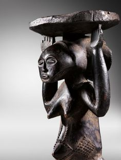 Congo, Sculpture, Paris, Buddha, Statue, France, Collection, Africa, Brittany