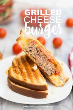 Grilled Cheese Burge