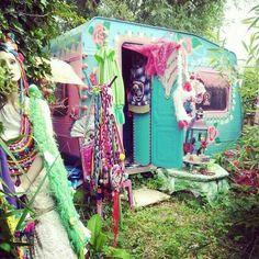 Gypsy wagon & vintage wares