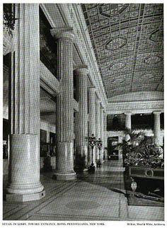The Hotel Pennsylvania designed by McKim, Mead & White c. 1919.