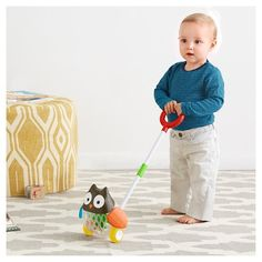 Skip Hop Explore & More Rolling Owl Push Toy : Target