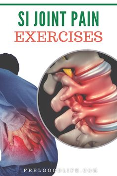 Simple SI Joint Pain Exercises To Realign Your Pelvis & Reduce Discomfort - Si Joint Pain, Stability Exercises, Sciatic Pain, Lower Back Exercises, Back Pain Relief, Aging Gracefully, Simple, Health, Fitness