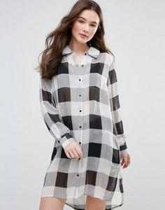 Glamorous Longline Shirt
