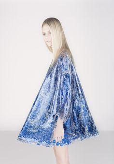 Aina Beck / textile foil printing
