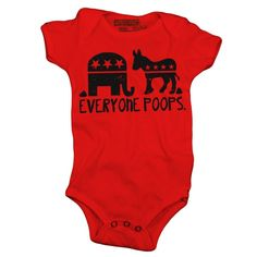 Everyone Poops Baby One-Piece, Toddler T-Shirt-Multiple Colors and Styles-- $20.00