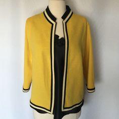 100%Pure Wool Vintage by Butte Knit size 8-10 Very good condition, black silken Oscar De La Renta top is including Butte Knit Jackets & Coats