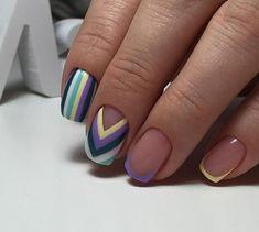 50 Beautiful Nail Art Designs & Ideas Nails have for long been a vital measurement of beauty and Joy Nails, Beauty Nails, Shellac Nails, Manicure And Pedicure, Nail Nail, Acrylic Nails, Nail Polish, Trendy Nails, Cute Nails