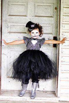 Jack Skellington Tutu Dress jack Skellington by GlitterMeBaby