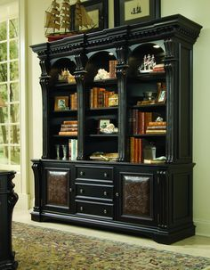 Hooker Furniture Home Office Telluride Bookcase Hutch 370-10-267 - Louis Shanks - Austin, Houston, San Antonio TX