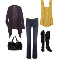 I love fall clothes!