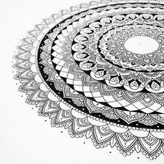 When it looks better sideways cos you can't see the wonkiness ha #mandala #mandalaart #pen #doodling #bw #lineart #beautiful_mandalas #iblackwork #drawing #marker #blackwork #symmetry #symmetrical #mandalamaze #art_empire