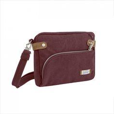 Travelon Anti-theft Heritage Crossbody Messenger Bag