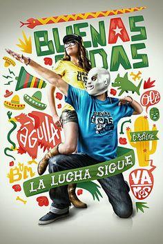 Mexico-influenced promos for Belgian music group Buenas Ondas, by Atelier Design.