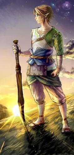 The Legend of Zelda: Twilight Princess / Ordon Link / 「木刀リンク」/「梟」の漫画 [pixiv]