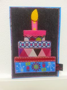 CaPrue: Stoffkarte zum Geburtstag