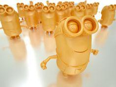 3D printed Minions.