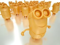 3D printed Minions #3dPrinteresting  #3dPrinting