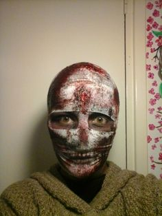 Mummie made with home made blood