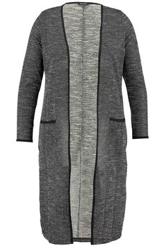 Long cardigan | Knit | Fashion | Plussize fashion | Lang vest