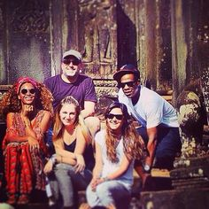 Beyonce & Jay In Cambodia 03.01.2015