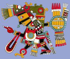 Tezcatlipoca - Dios de los Dioses (Aztec god of gods)