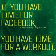 Prioritize your workout... #FitnessInspiration