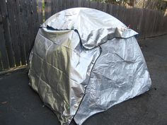 Adding thermal insulation to your tent for the freeze your ass off winter camping trip!!