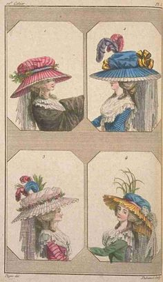 Cabinet des Modes (later Magasin des Modes), May 1786.