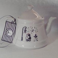 Love cat tea set Tea Set, Tableware, Dinnerware, Dishes, Tea Sets, Porcelain Ceramics