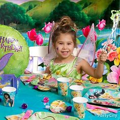 Tinkerbell themed party
