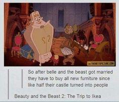 Beauty and the Beast 2: The Trip to Ikea
