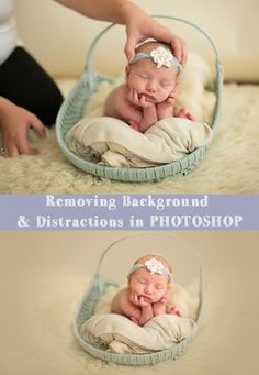 Watch how super easy it is to remove distractions in your background in this Photoshop tutorial, applicable to all versions of Photoshop!