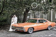 The wedding car. Wellington wedding photography http://www.paulmichaels.co.nz/