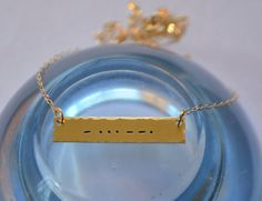 Morse Code Necklace  Valentines Day Gift by SeaSaltShop on Etsy, $22.00