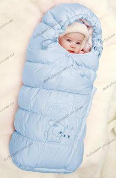 Конверт зимний для новорожденного купить.