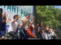 The Great Comet at Broadway in Bryant Park - YouTube