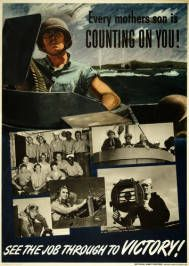 Military Poster / Print: Hit hard! Hit fast! Hit... | Pritzker Military Museum & Library | Chicago