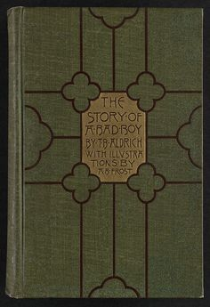 The story of a bad boy [Front cover] | por Boston Public Library