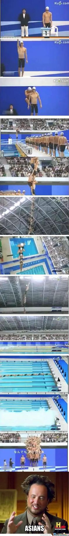 Micheal Phelps Has Some Competition