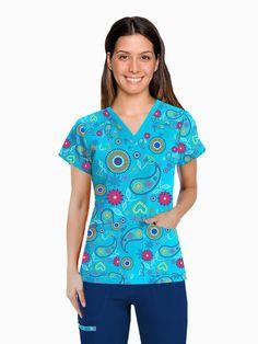 IMG-PRODUCT Phlebotomy, Scrubs, Nursing, Dental, Scrubs Uniform, Medicine, Molde, Block Prints, Vestidos