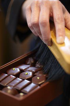 Chocolate brush © Caroline Faccioli #MaisonChocolat