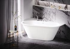 РАА — латвийский производитель ванн. Они изготовлены из композитного материала SILKSTONE: шелковистого на ощупь и твердого как камень. Это современная альтернатива мрамору — так же величественно, и при этом более функционально.  Ищите ванны PAA в КАЙРОС.