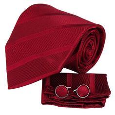 Italian style Burgundy designer for men silk neck ties Cu...