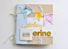 ERINE- summer mini album with Citrus Twist Kits!