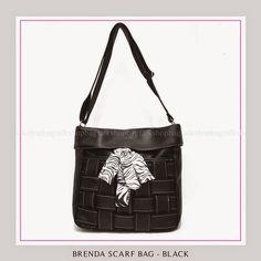 Tas Wanita Murah dan Bagus Brenda Scarf Bag - Black