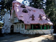Abandoned Santa's Village. Santa's Village in Skyforest California, the theme park closed in 1998.